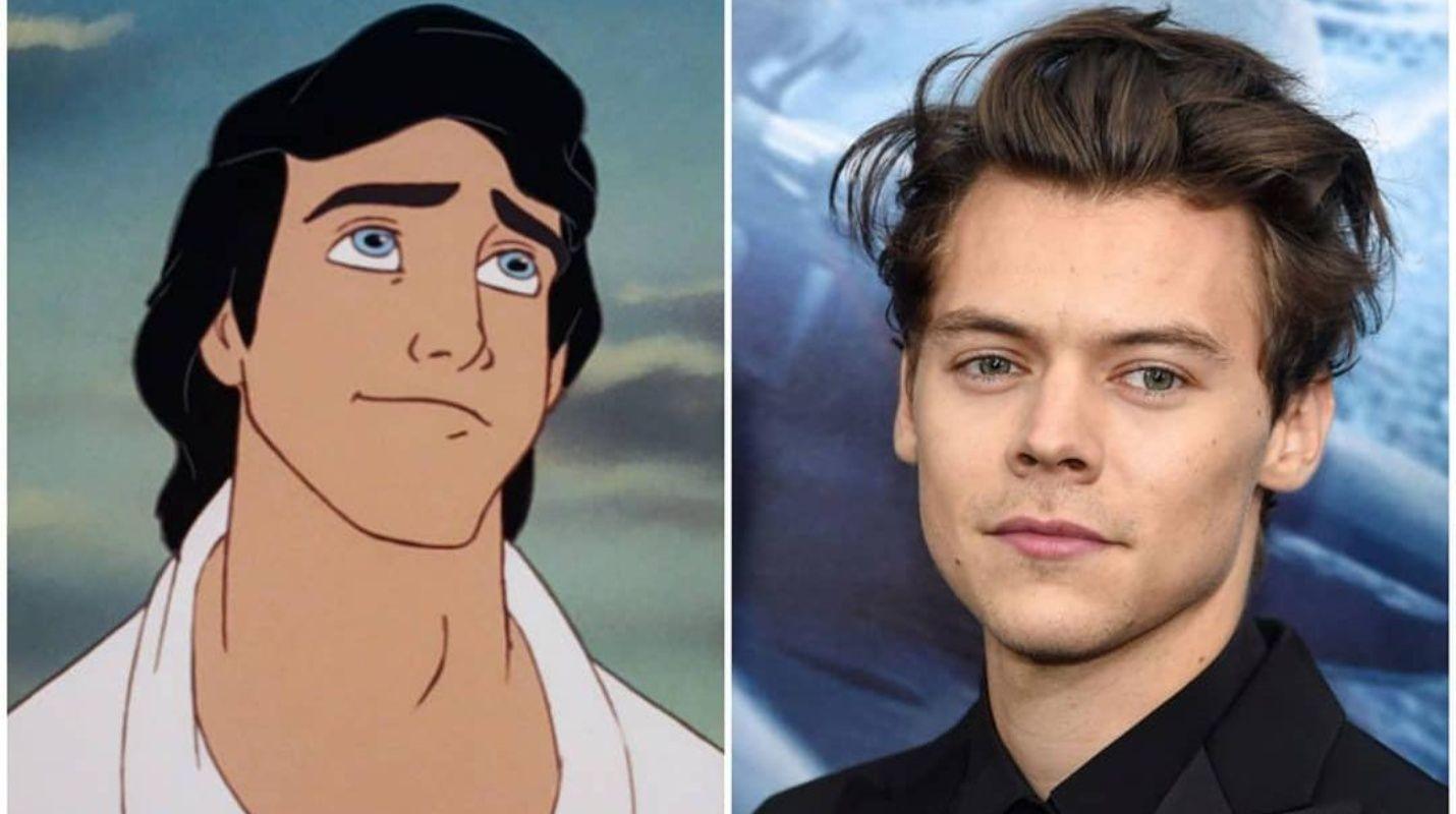 """Harry Styles firma para ser el Príncipe Eric en """"La Sirenita"""""""
